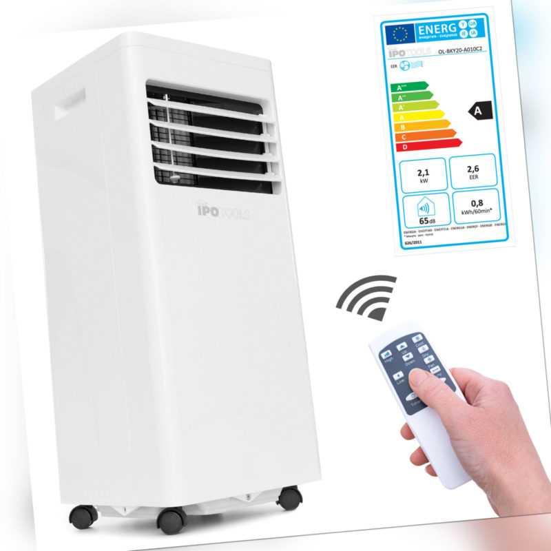 Mobile Klimaanlage Mobiles Lokales Klimagerät 2,1 kW / 7000 Btu EEK A  *B-Ware*
