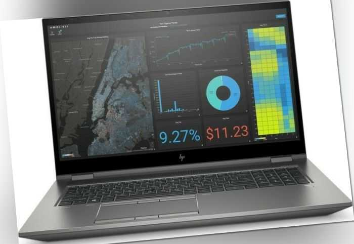 "HP ZBook Fury 17 G7 Core i7-10750H 2.6GHz 17.3"" Full HD 32GB RAM NVIDIA T2000"