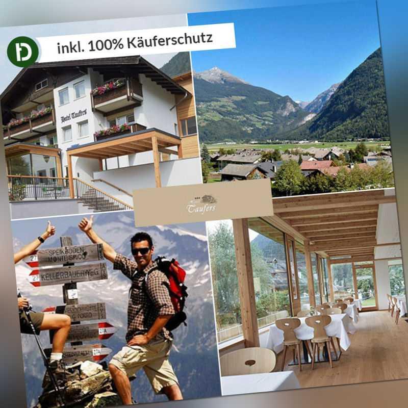 Südtirol 4 Tage Taufers Aktiv-Urlaub Hotel Reise-Gutschein 3 Sterne Wandern