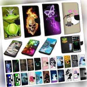 Für Xiaomi Mi 10T Pro - Book Flip Wallet Case Hülle Schutz Etui Tasche #AW