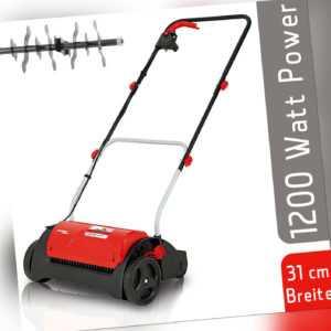 Grizzly Tools Elektro Vertikutierer EV 3112-1200, 1200 W, 31 cm Arbeitsbreite