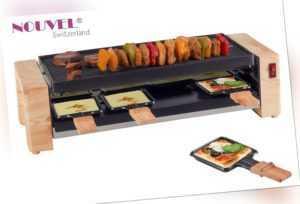 Pizza + Raclettegrill für 8 Personen Nouvel  Swiss * Wood Design *