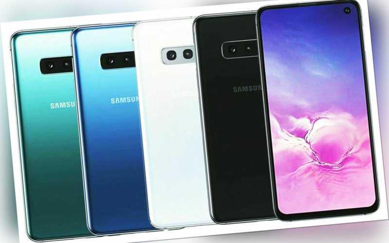 Samsung Galaxy S10e SM-G970F 128GB Smartphone Dual Sim Sim Frei...