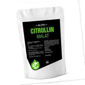 CITRULLIN MALAT 2:1 PULVER - Hochdosiert & Vegan 500g reines Pulver L-Citrulline