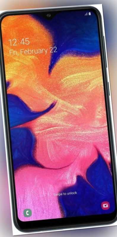 Samsung Galaxy A10 Dual-SIM 32GB schwarz Smartphone - NEUWERTIG - DE HÄNDLER!!