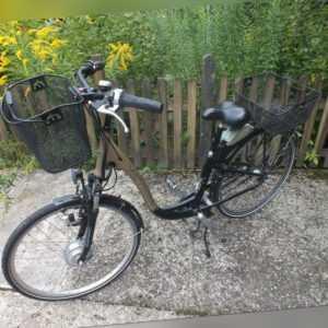 Elektrofahrrad E Bike VICTORIA Münster 28 Zoll mit Überholte Akku Rahmen Gro.46