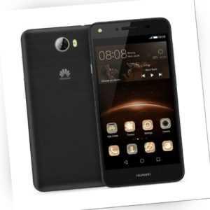 Huawei Y5 II CUN-L01 Black Schwarz Selfie Blitz Dual LED Kamera...