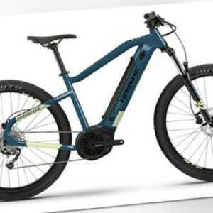 "Haibike HardSeven 5 E-MTB 27,5"" E-Bike 2021 Bosch RH 49/L blue/canary"