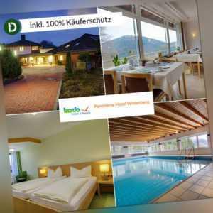 6 Tage Urlaub im Panorama Hotel Winterberg in Niedersfeld mit Halbpension