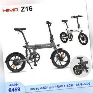 HIMO Z16 Klappfahrrad Elektro Ebike16'' Klapprad Faltrad Tragbar HD LCD 25 km/h