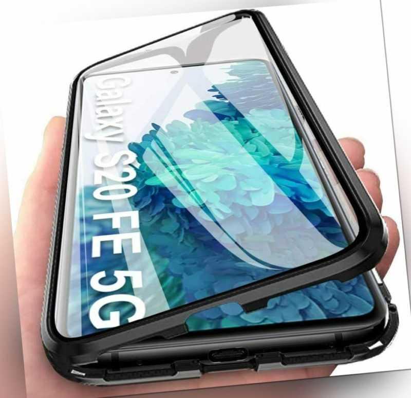 360° Magnet Metall Tasche Case Handy Schutz hülle Für Samsung Galaxy S21 S20 FE