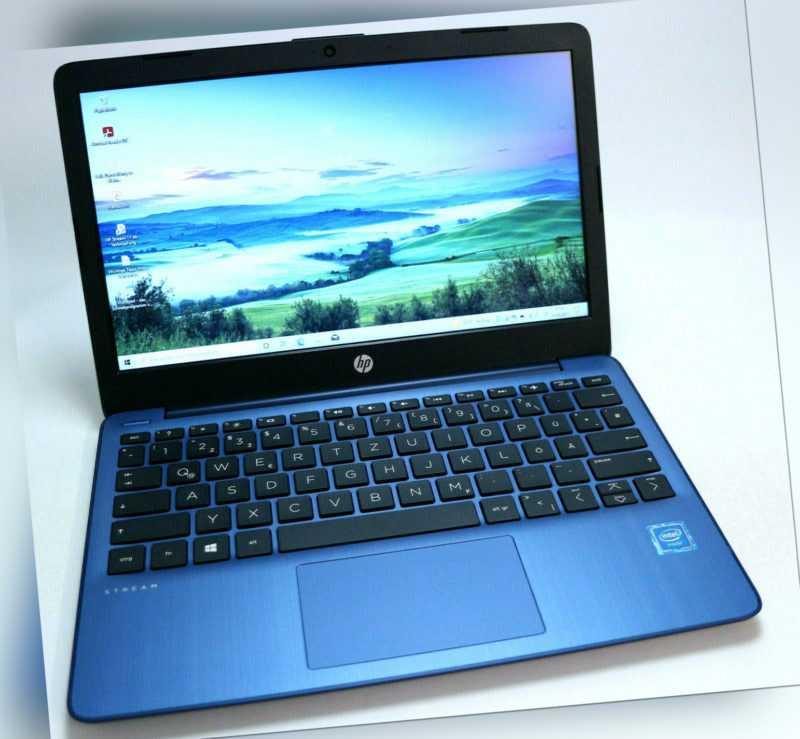 11.6 Zoll Mini HP Stream 11-ak0292ng 64GB SSD + 64 GB Win 10 10h Akku  *wie neu*
