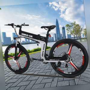 Elektrofahrrad Mountain Bike 27,5/26 Zoll EBIKE 350W Citybike Shimano 21-Gang DE