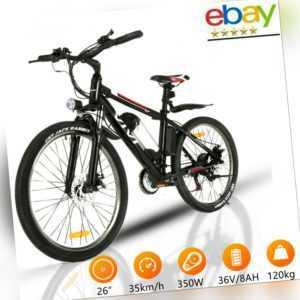 """20""""/26"""" Elektrofahrrad E BIKE Klapprad Elektro Fahrrad Pedelec 350W city bike MT"""