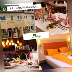 5 Tage Urlaub in Silz im Pfälzer Wald im Hotel Zur Linde mit Halbpension