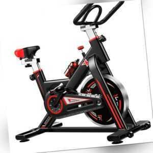 LCD Heimtrainer Fahrrad Fitness Bike Trimmrad Indoor Cycling Rad Ergometer 250KG