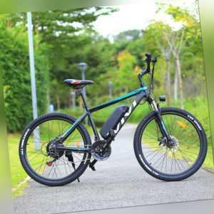Elektrofahrrad 26 Zoll Mountainbike ebike 250W Motor E-City Bike Shimano Pedelec