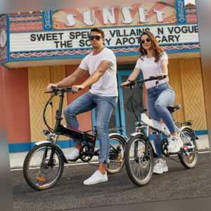 Mini Klapprad Elektrofahrrad 20 Zoll E-bike Citybike 7-Gang Fahrrad NEU