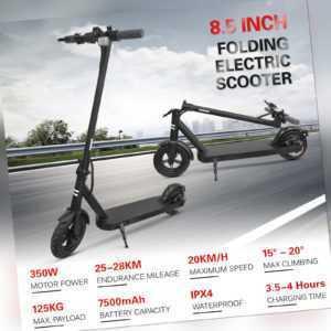 "8,5"" 25KM/h Electric Scooter Adult 350W Faltbarer E-Scooter Elektroroller Roller"