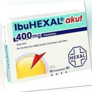 IBUHEXAL akut 400 Filmtabletten 10 St PZN 68966