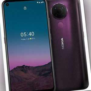 Nokia 5.4 128GB Dual-SIM dusk Smartphone ohne Simlock - Wie neu