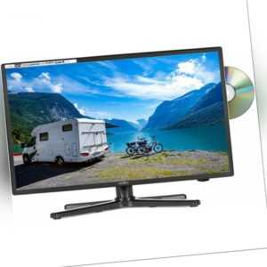 Reflexion LDDW200 LED HD Fernseher 20 Zoll TV DVB-S2/C/T2 inklusive DVD-Player