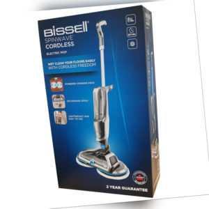 BISSELL SpinWave Cordless 2240N Hartbodenreiniger kabellos grau/blau - Neuware -