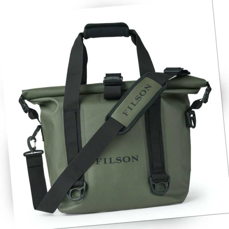 Filson Dry Roll-Top Tote Bag Green