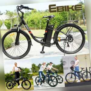 "Elektrofahrrad E-Bike Pendlerfahrrad Ebike 20/26"" 350W Motor Shimano Pedelec DHL"