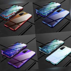 Xiaomi Mi 10T / 10T Pro 360° Magnet Case Hülle Metall Tasche doppelt Schutz-Glas