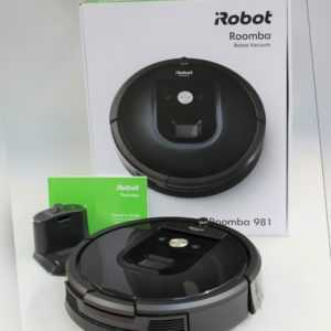 iRobot Roomba 981 Saugroboter Staubsauger Roboter WLAN Teppich App Hartboden