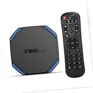 8K T95 Plus Android 11.0 TV Box 8+64GB RK3566 Quadcore 5G WiFi 1000M LAN BT S3L9