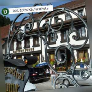 Schwarzwald 3 Tage Rippoldsau Landgasthof Sonne Hotel-Gutschein Halbpension