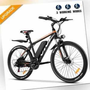 """26"""" Elektrofahrrad E BIKE Mountainbike Elektro Fahrrad Pedelec 350W citybike"""