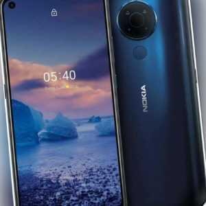 Nokia 5.4 Dual-SIM Smartphone 128 GB blau Smartphone - NEUWERTIG -...
