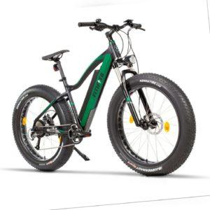 Fitifito Elektrofahrrad Fatbike FT26 E-Bike Pedelec 48V Heckmotor Federgabel
