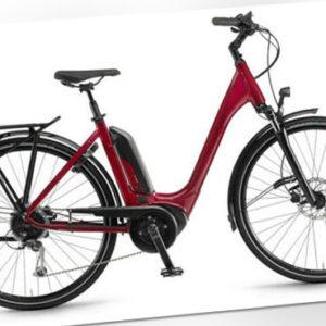 "Winora Tria 9 Einrohr Unisex E-Bike City 28"" E-Trekking 2020 Bosch RH 46 rot"