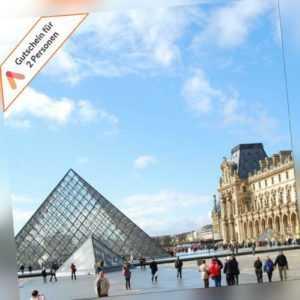 Städtereise Paris 3 bis 4Tage für 2 Personen zentrales Komfort Hotel Gutschein