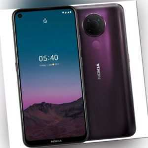 Nokia 5.4,dusk, Smartphone, 6,39-Zoll-HD Display, 4 GB RAM, 128 GB...