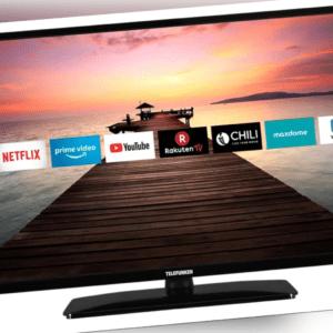 Telefunken D32F551R1CW 32 Zoll (80 cm) LED TV Flat Full-HD Smart TV