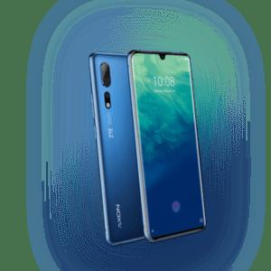 ZTE AXON 10 PRO 128 GB Blau Dual SIM Smartphone - Aussteller