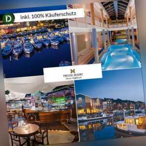 4 Tage Urlaub im Precise Resort Marina Wolfsbruch in Rheinsberg mit Halbpension