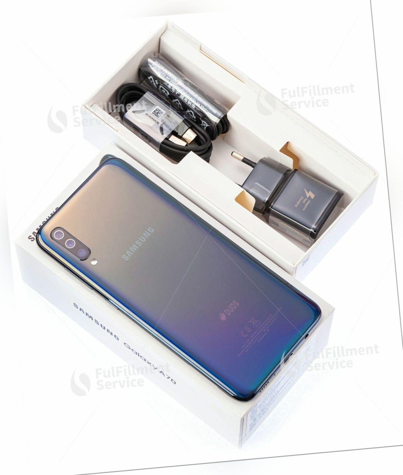 Samsung  Galaxy A70 A705fn Smartphone Handy Android 8 MP Kamera...