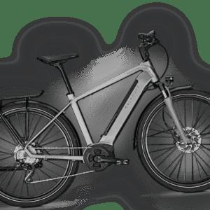 KALKHOFF E-Bike E-Trekking ENDEAVOUR 5.B XXL (170kg) 28DI silver Gr.S/43