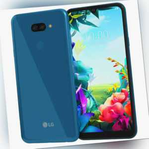 LG K40S Dual Sim LM-X430EMW 32GB Android Smartphone Blue Neu OVP