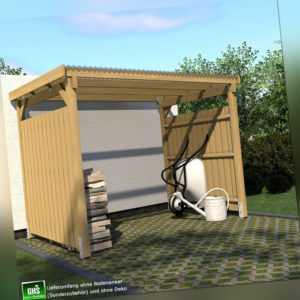 Unterstand 3x2 m Überdachung für Gartengeräte + Grill oder als Raucherunterstand