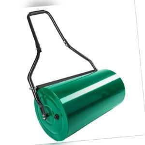 Rasenwalze Handwalze Rasenroller Gartenwalze Rasenlüfter Ackerwalze Metall 60cm