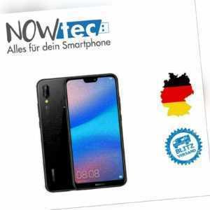 Huawei P20 lite - 64GB - Mitternachtschwarz (Ohne Simlock) Sehr...