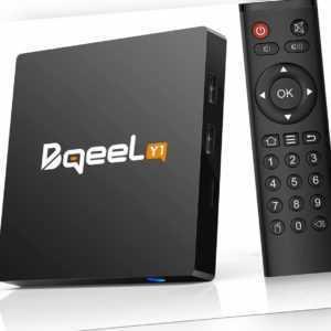 Fachhändler: Bqeel Android TV Box Y1 Smart TV Box Android Box - 1G+8G - 4K