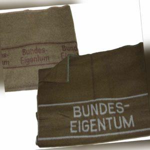 Original Wolldecke der Bundeswehr Bundeseigentum 200 x 210 cm